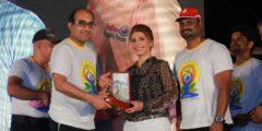 الجامعة الأمريكية في رأس الخيمة تحتفل باليوم العالمي لليوغا