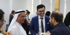 رئيس الجامعة يعقد اجتماعات مع الطلاب والهيئة التدريسية والموظفين