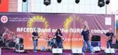 أجواء رائعة في الجامعة الأمريكية في رأس الخيمة بمشاركة الفرقة الموسيقية التابعة للقيادة المركزية للقوات الجوية الأمريكية