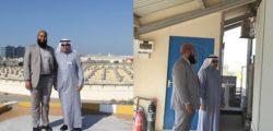 Visit of Dr. Ramzy R. Obaid from King Abdul Aziz University, Jeddah