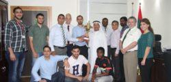 AURAK Wins Corporate Tournament