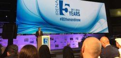 AURAK attends the 5th Anniversary celebration of International Renewable Agency (IRENA)