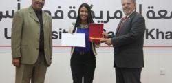 AURAK Honors Top Students at Award Ceremony