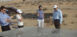 Communications officer from the Office of the Ruler – Government of RAK along with Mr Robin Mills and Ms. Roa Ibrahim from Qamar Energy, visited RAKRIC