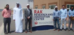 Delegates from Abu Dhabi Quality Conformity Council visit the RAK Research and Innovation Center
