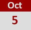 Oct 5