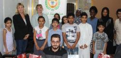 AURAK Volunteers with Human Appeal International