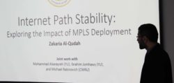 Dr. Zakaria Colloquium on Internet Path Stability