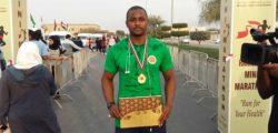 Bello Adamu Wins RAKMHSU Mini-Marathon