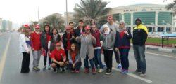 AURAK Volunteers at RAK Half Marathon