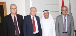 AURAK Receives Visit from Association of Arab Universities