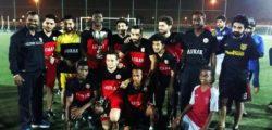 Football Team Celebrates Further Success