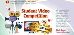 AURAK Launches Video Competition