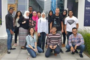 AURAK AIAS Visits Dubai Design District