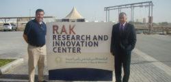 Prof. Ali visit to RAKRIC