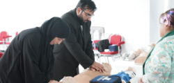 AURAK Organizes First Aid Training