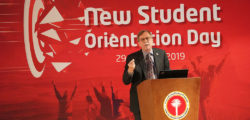 AURAK Holds Orientation for New Students
