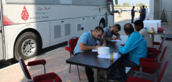 AURAK Students Donate Blood