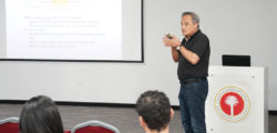 Dr. Majed Khodr Presents Research into Storing Excess Solar Power Output