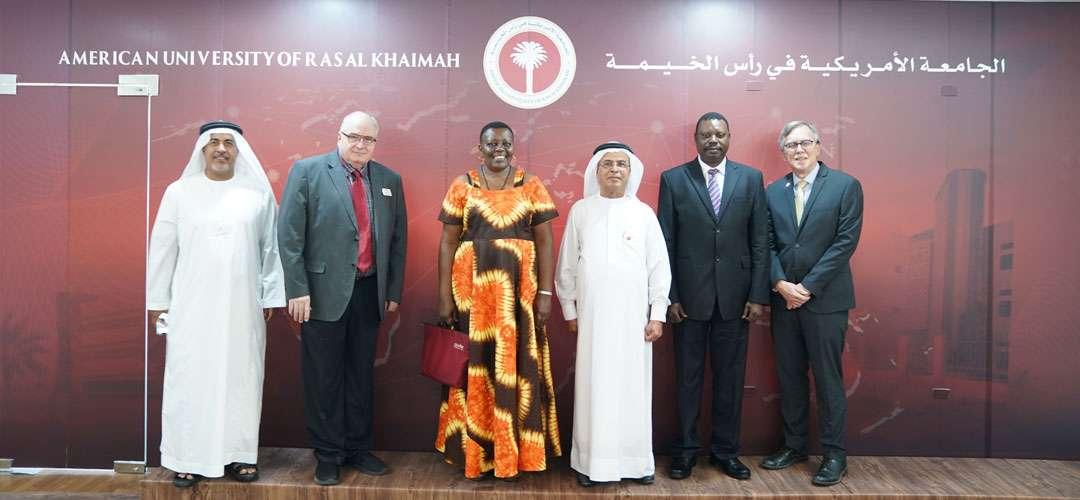Ugandan Delegation Visits AURAK to Tour Campus, Talk Cooperation