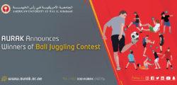 AURAK Announces Winners of Ball Juggling Contest