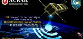 "AURAK Satellite Ground Station successfully received the first decoded signal from ""MeznSat"""