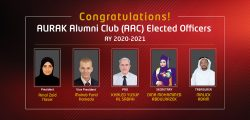 AURAK Elects the President of its Alumni Club